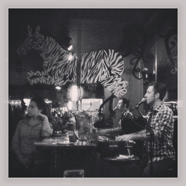 The always epic #Zebra Lounge. #pianobar #Chicago # ...